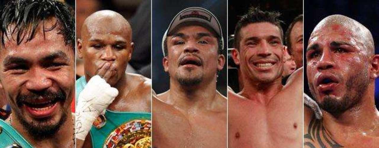 En medio de una 'manada' de púgiles de todos los rincones del planeta, cinco talentos se destacan en el ring, permitiendo que esta disciplina se mantenga vigente entre los fanáticos.
