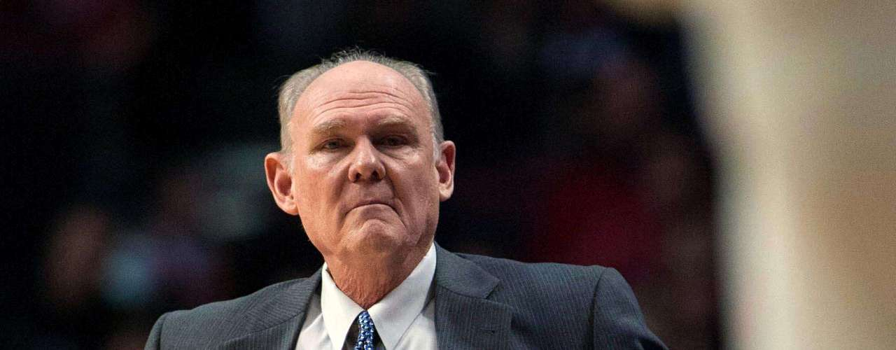George Karl - Denver Nuggets.- llegó con Denver en la temporada 2004. Sin embargo, sólo ha disputado una final de la NBA con los SuperSonics en 1996 ante los Toros de Chicago.