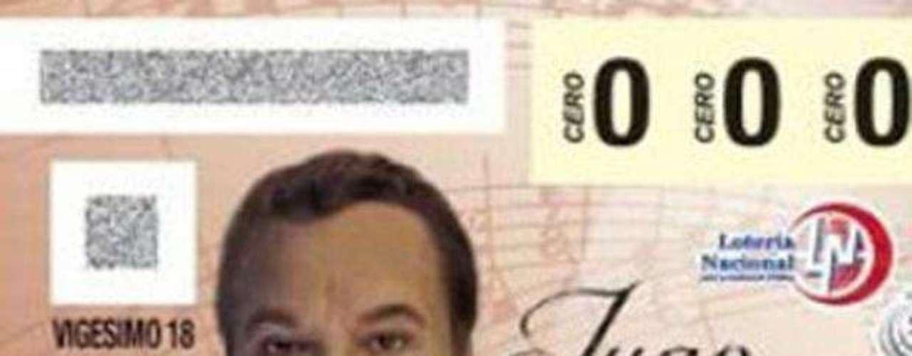 El sorteo del premio mayor del 16 de abril de 2012 de la Lotería Nacional en México honra la trayectoria artística de Juan Gabriel con su imagen impresa en los billetes.