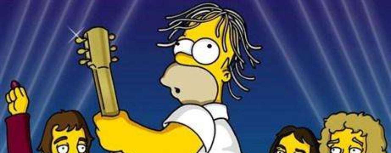 'Homero' fue miembro de The Who por un día.