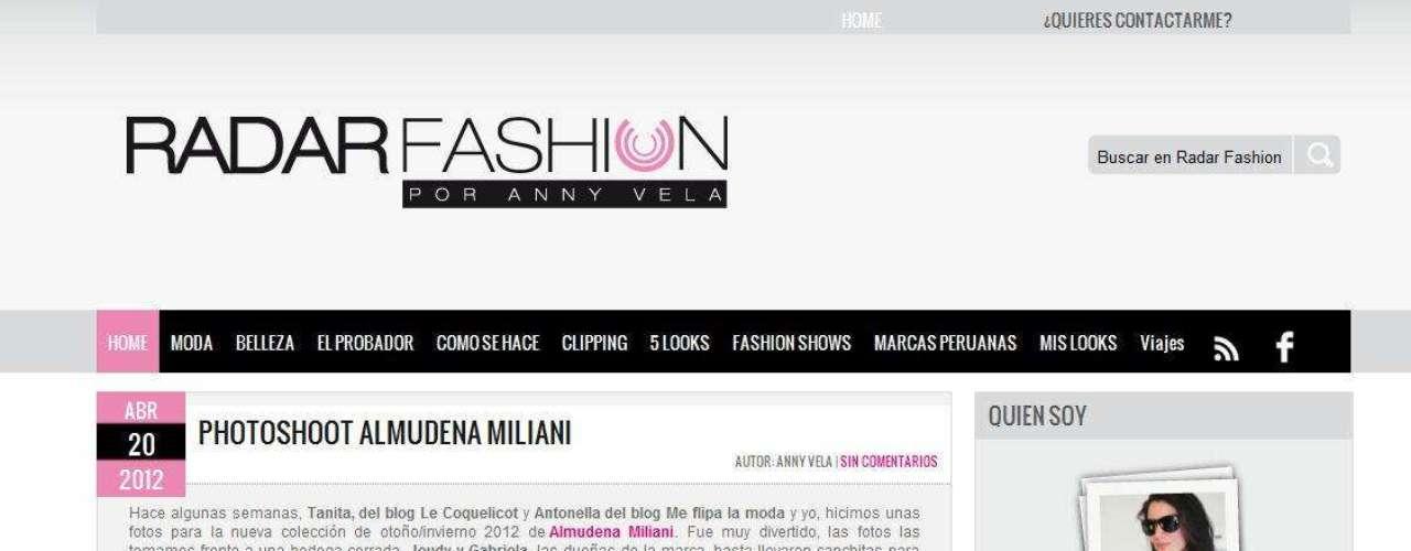 Anny es también una hot blogger de Saga Falabella. \