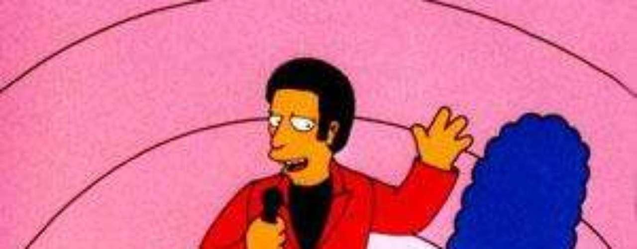 Tom Jones fue secuestrado por el 'Señor Burns' para intentar conquistar a 'Marge'.