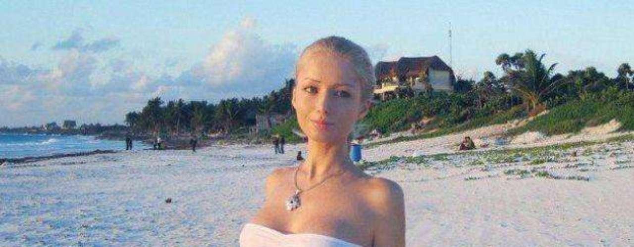 El periódico Daily Mail sostiene que está jovencita tiene mucho photoshop en su imagen