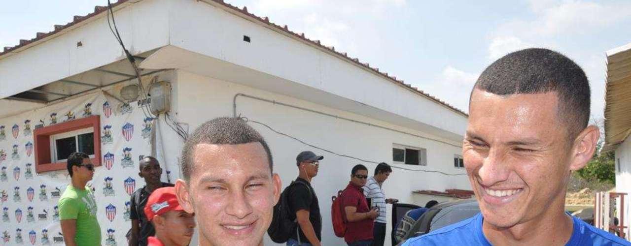 Luis Páez encontró su doble en las divisiones menores del Junior de Barranquilla. Cesar Torres, un volante zurdo de la cantera rojiblanca.
