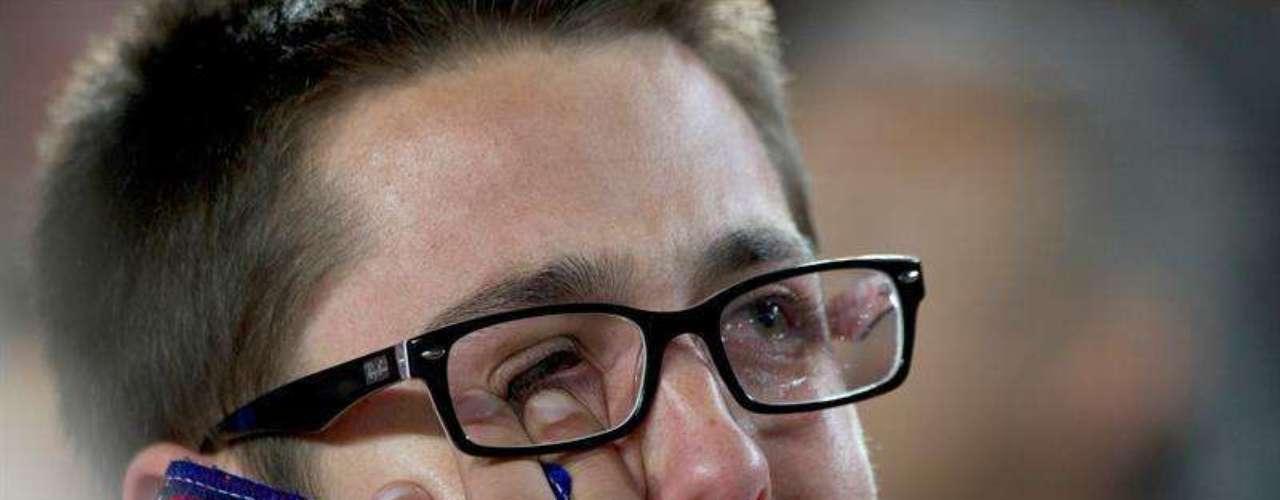 Hinchas del Barza lamentan la eliminación de su equipo