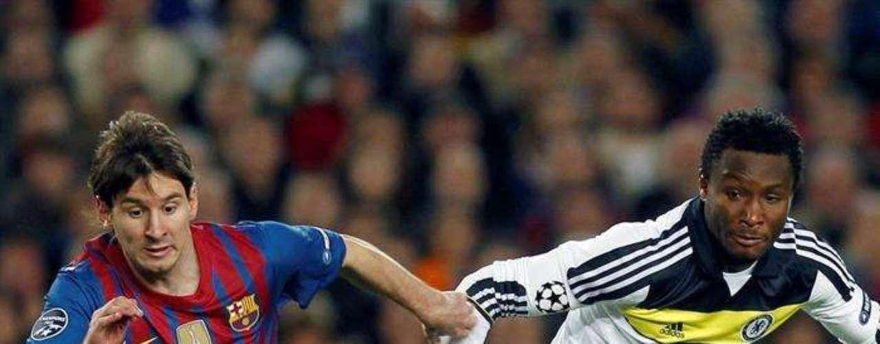 El Chelsea, jugando casi todo el segundo tiempo con un hombre menos, empató 2-2 con el Barza en el Camp Nou y avanzó a la final de la Champions League.