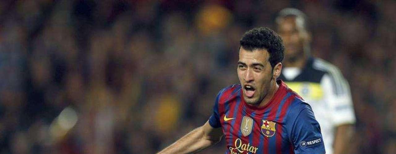 Busquets e Iniesta anotaron para el Barcelona