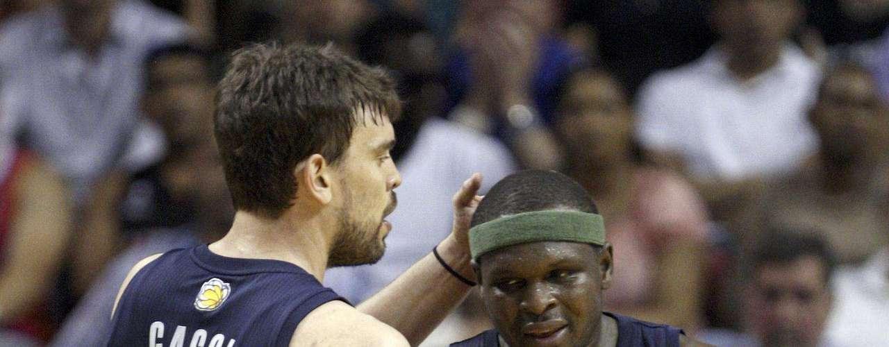 Mark Gasol es el líder de los Grizzlies, Memphis buscará la sorpresa en playoffs.