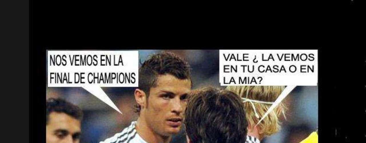 Las redes sociales se expresan por la eliminación del Real Madrid y del Barcelona en la Liga de Campeones.