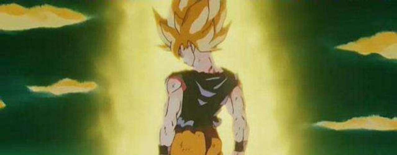 Las técnicas no bastaron y, cuando en un acto de suma violencia, Freezer destroza a Krilin, Gokú no contiene su ira y se transforma en el legendario Súper Saiyajin, quien según la historia, era el único con el poder para derrotar a Freezer. Así lo hizo.