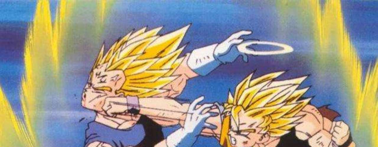 Así se desencadenó una gran batalla entre los saiyajin nuevamente. En esta ocasión, el victorioso fue Vegeta, que enrumbó en seguida a derrotar a Majin Boo. El único detalle fue que este monstruo rosado superaba ampliamente sus poderes.