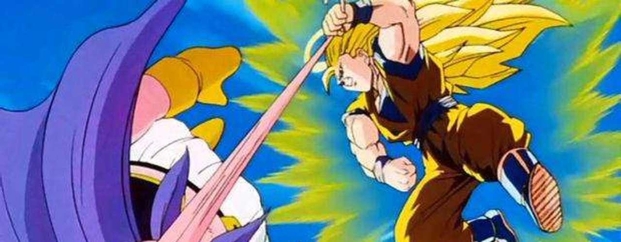 Majin Boo despertó y, a pesar de su apariencia infantil, vencía a todos los guerreros rápidamente. Para derrotarlo, y aprovechando los últimos de su estancia en la tierra, Gokú, que estaba muerto, se transformó en la fase más perfecta del Súper Saiyajin, dejando atónitos a todos. El tiempo, sin embargo, corrió en su contra y tuvo que irse sin poder terminar la pelea.