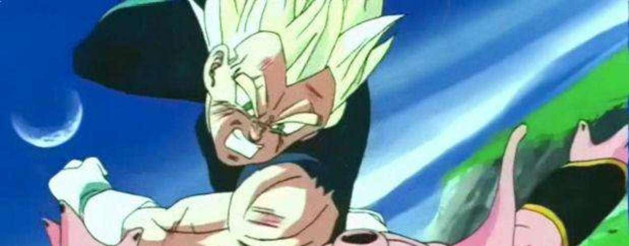 Para destruirlo, Gokú concluye que la única forma es haciendo una Genkidama que reúna la fuerza entera del universo. Para esto, Vegeta batalla con Boo para darle tiempo a Gokú de hacer esta inmensa bola de energía.
