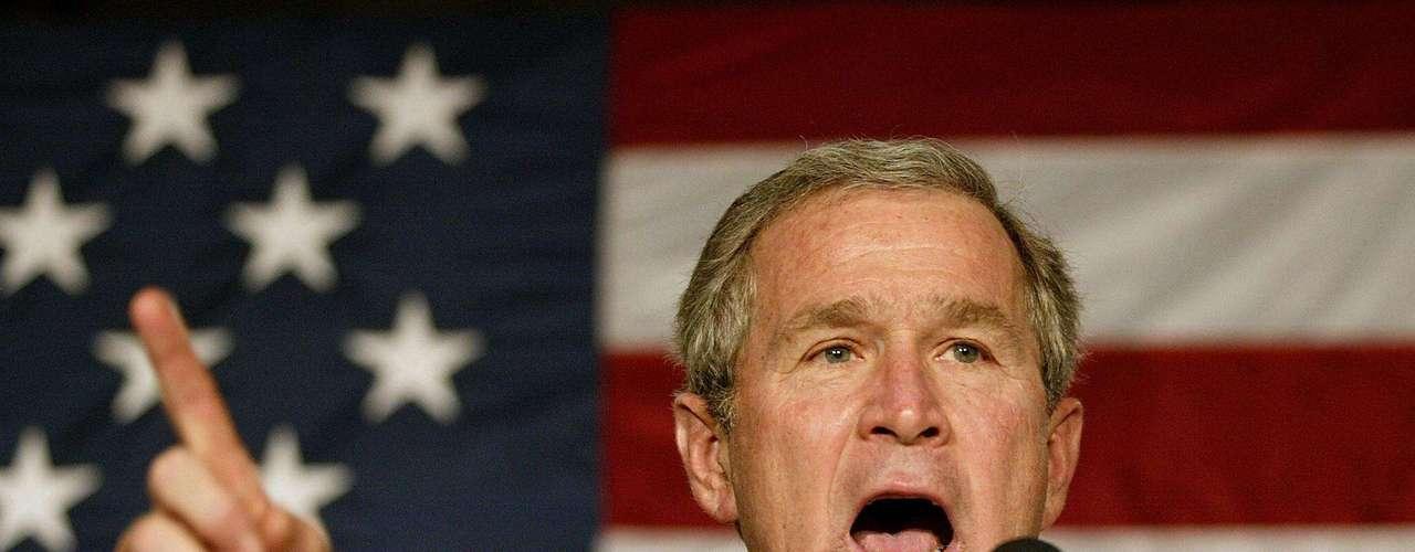 Septiembre de 2006 - Bush prometió que Estados Unidos encontraría a Osama bin Laden. Pero la noticia vino cuatro años después bajo la administración de Barack Obama.