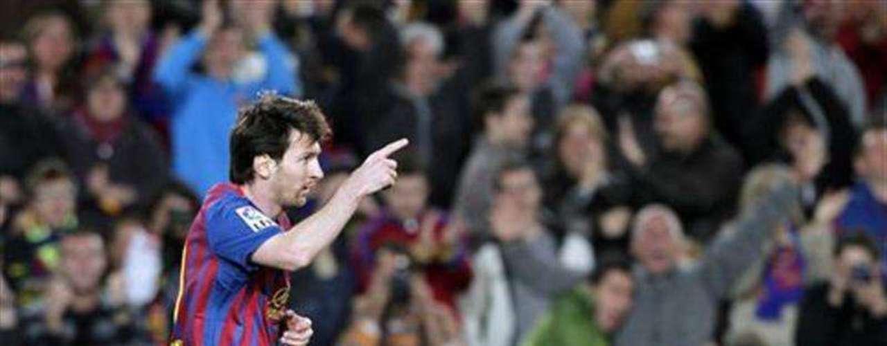 Lionel Messi alcanzó el miércoles otro hito en su increíble carrera, al romper una marca del alemán Gerd Müller de 67 goles anotados en una temporada para un club europeo de primer orden.