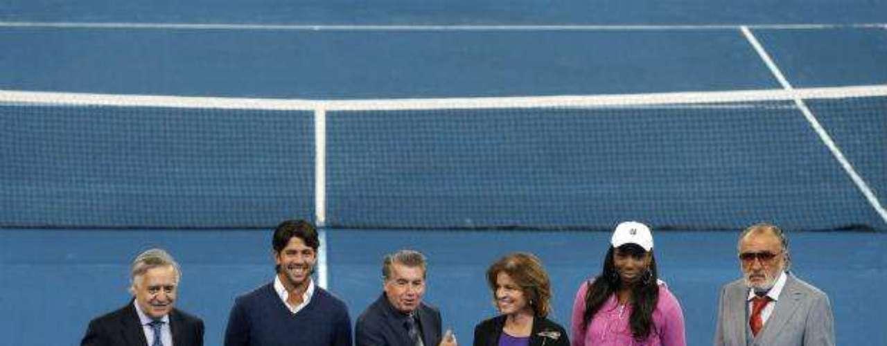 El Masters 1.000 de Madrid hizo su presentación oficial con la pista azul como tema central, cumpliendo su undécima edición y esperando a los mejores jugadores y jugadoras.