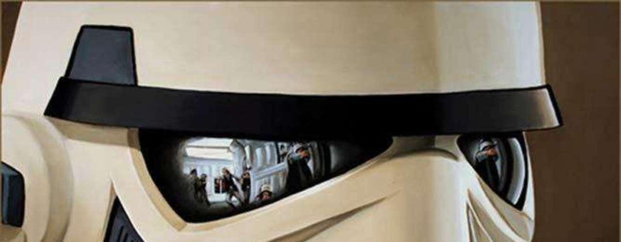 La colección de arte, relacionada con Star Wars estará abierta hasta el 25 de mayo.