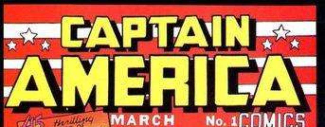 La aparición en el cómic del Capitán América.
