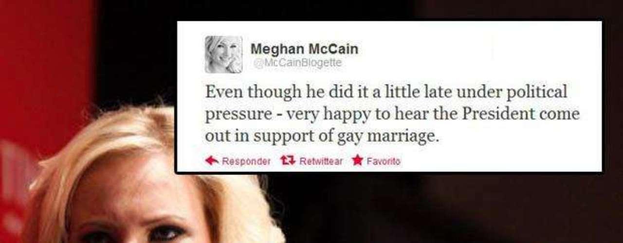 Meghan McCain: \