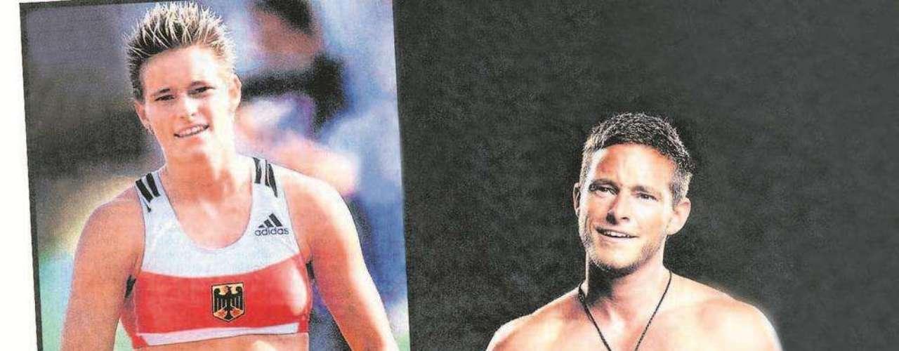 Baliam Buschbaum. Nació como Yvonne Buschbaum y como mujer fue una de las mejores saltadoras de garrocha. En 2008 decidió cambiar de sexo y comenzar a vivir como un hombre.
