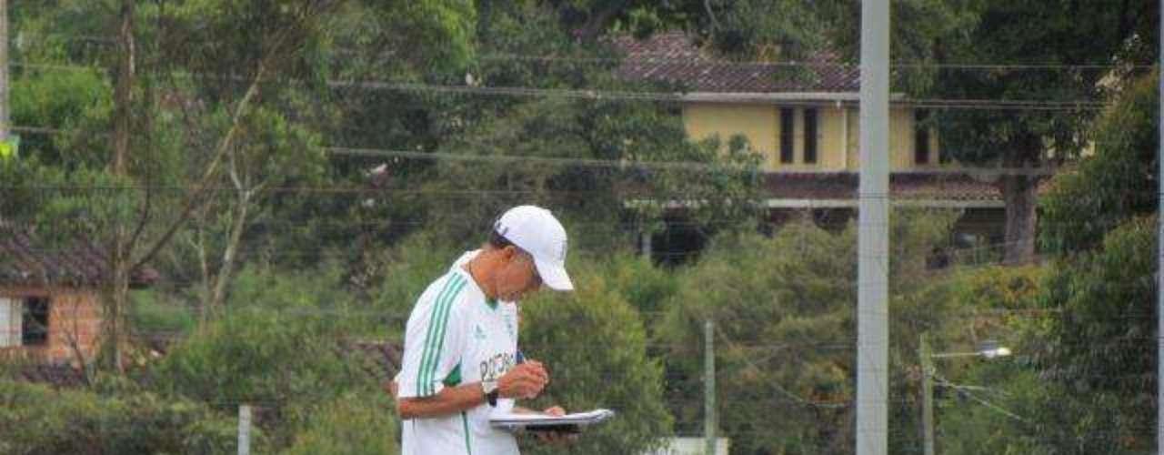 Esperamos que con la ayuda de los jugadores, de la hinchada y de las personas que están ligadas al club, podamos sacar este proyecto adelante, señaló Osorio