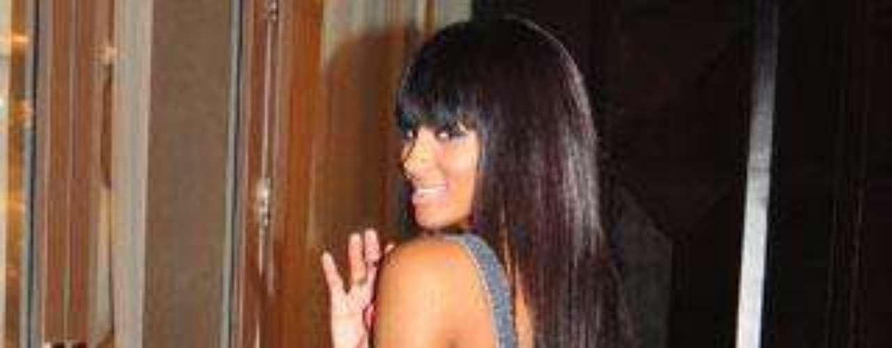 La cantante Ciara.