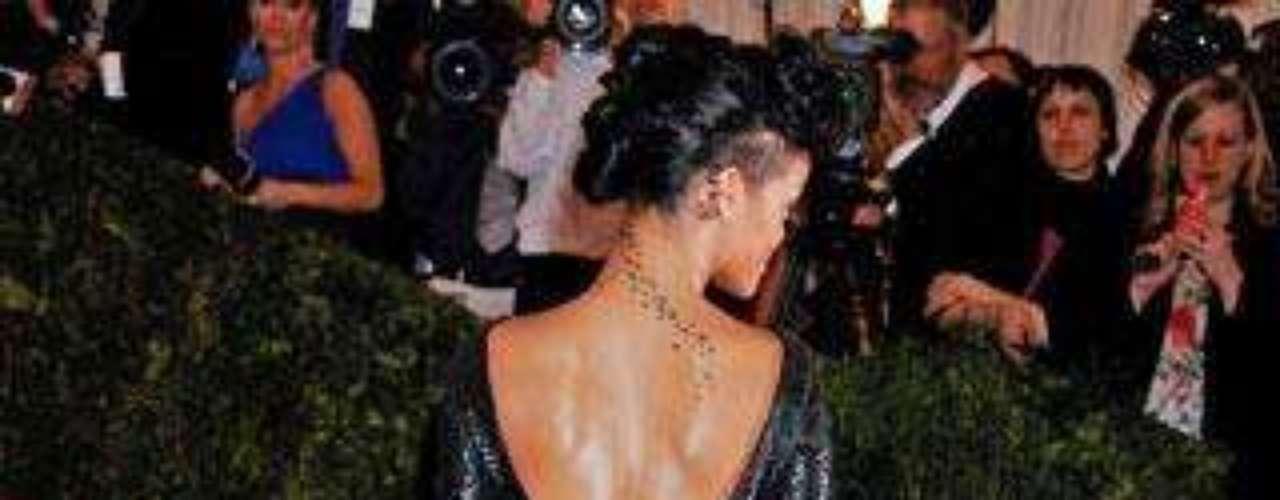 Rihanna en la gala del MET.