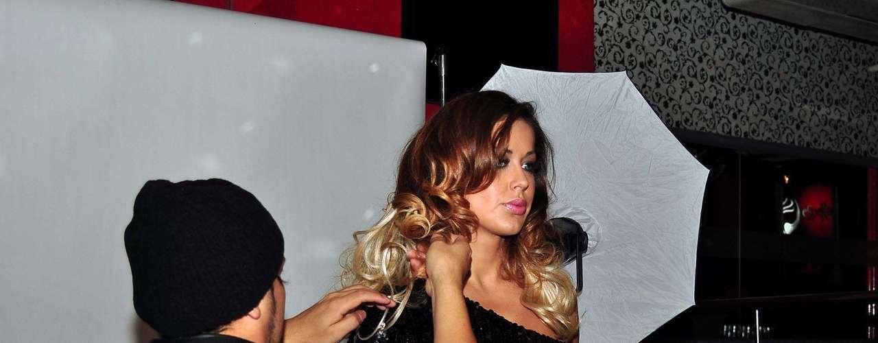 Pamela Sosa Infartante En La Producci N De Fotos Su Disco