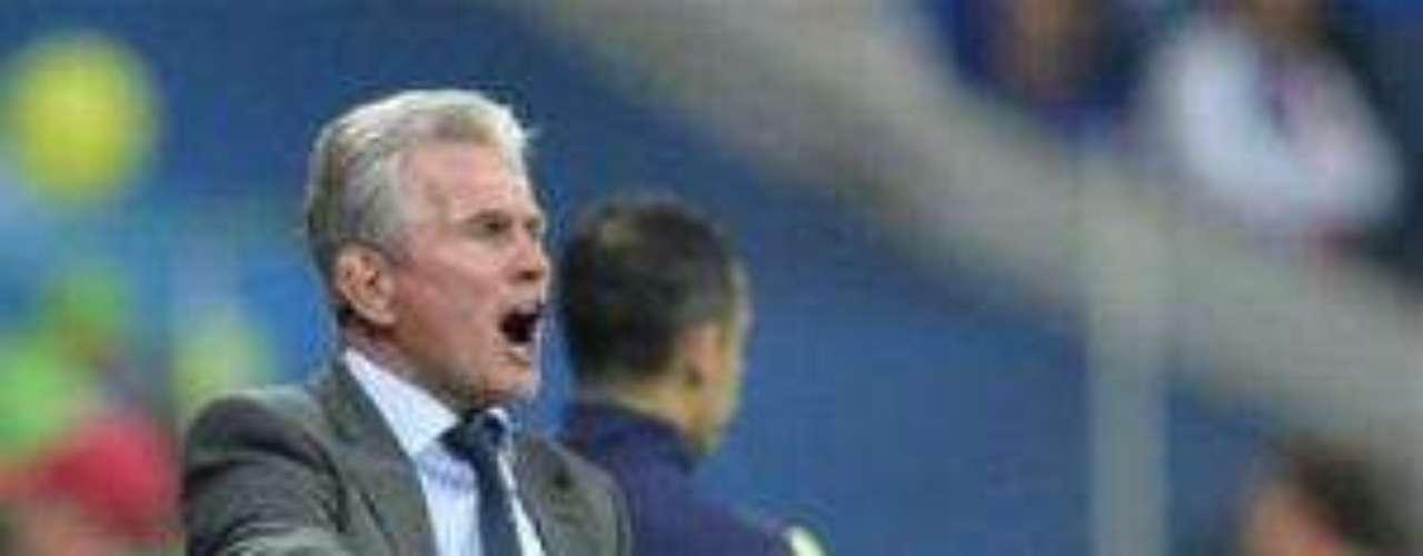 A diferencia del entrenador del Chelsea, Jupp Heynckes, timonel del cuadro alemán, fue más incisivo con sus jugadores.