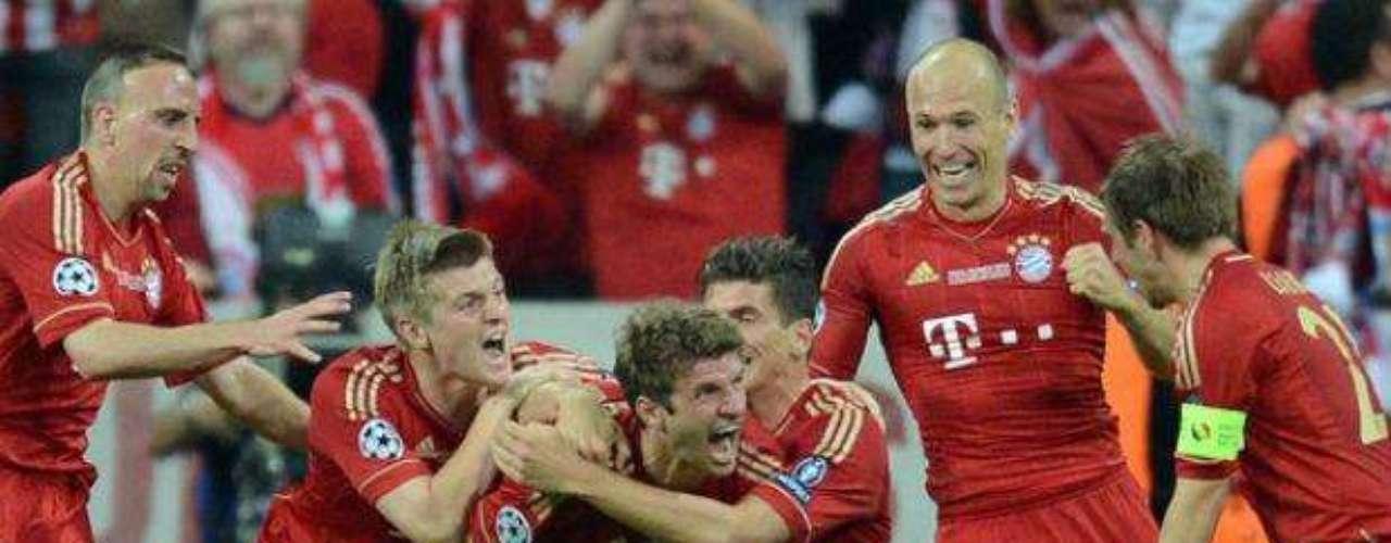 Hasta ese instante, el Bayern había sido muy superior pues buscó con más insistencia el gol.