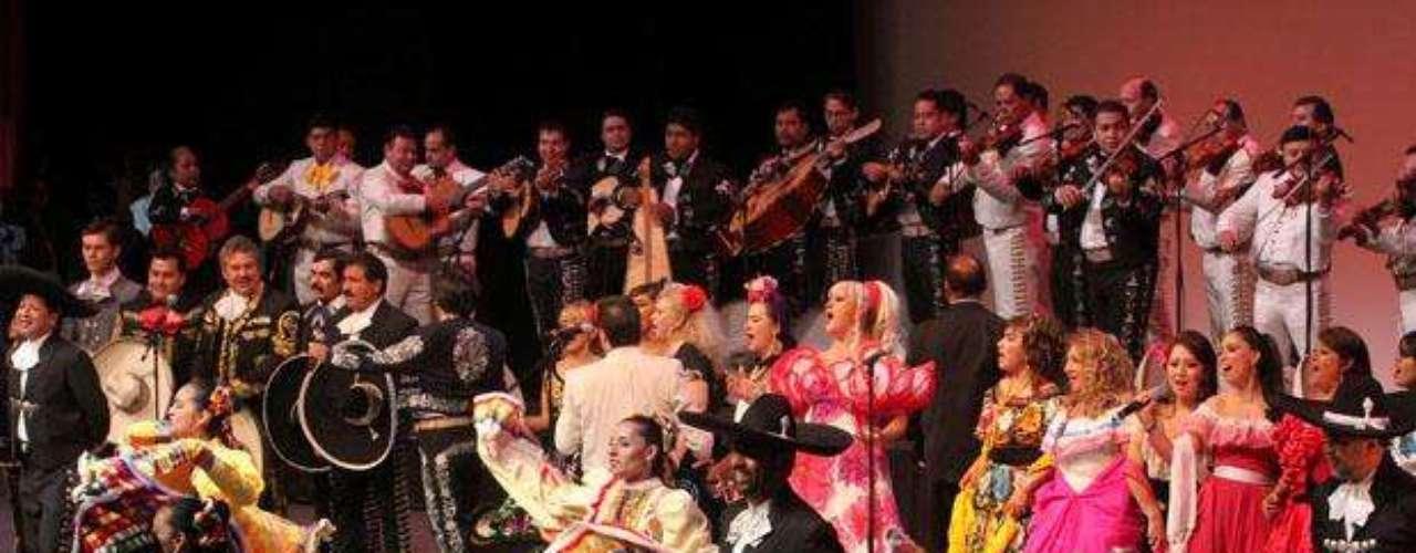 Se realizó con éxito el Festival Internacional del Mariachi, en el Auditorio Nacional de Ciudad de México.