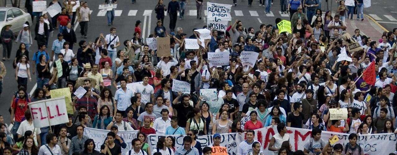El PRI ha dicho que respeta la inconformidad de los estudiantes, como asegura Luis Videgaray, coordinador de la campaña presidencial de ese partido.
