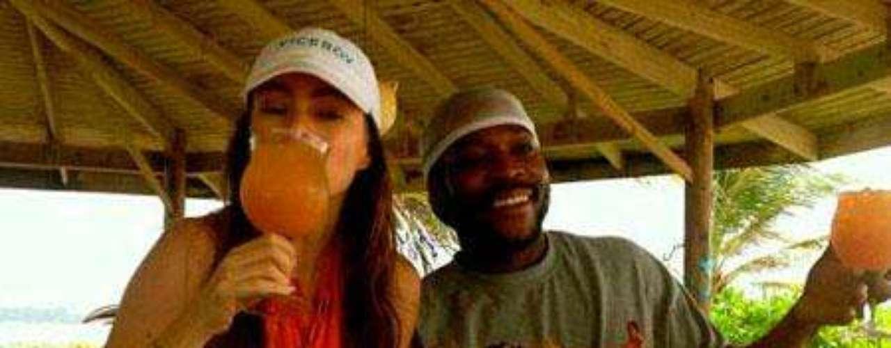 Sofía Vergara disfrutando de sus vacaciones en el Caribe