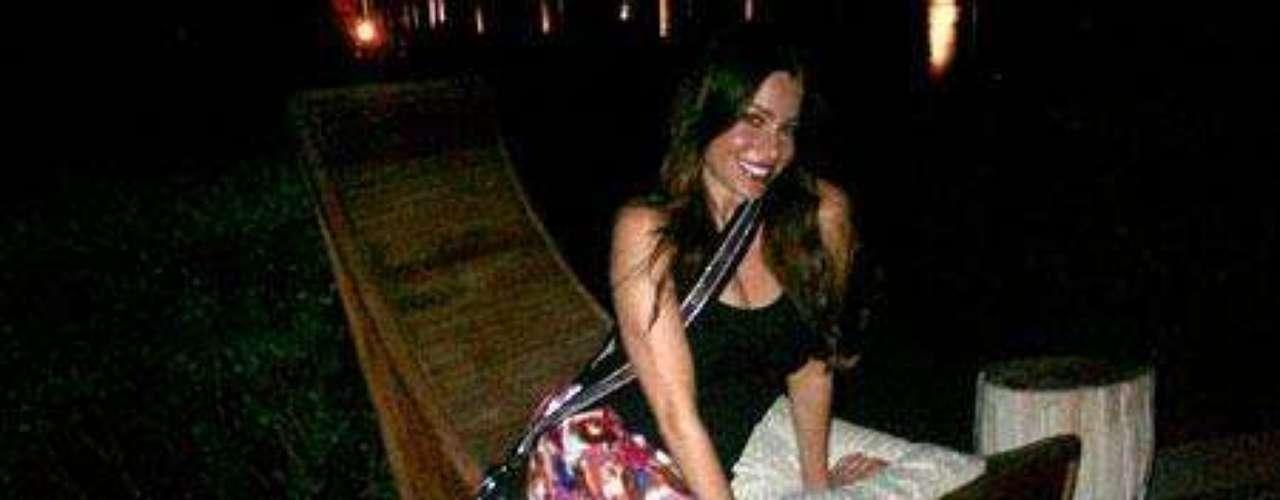 Sofía Vergara olvida a su ex en el Caribe
