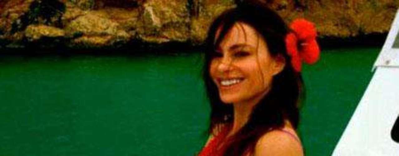 Sofía Vergara compartió en su perfil de Whosay las fotos de sus vacaciones en el Caribe