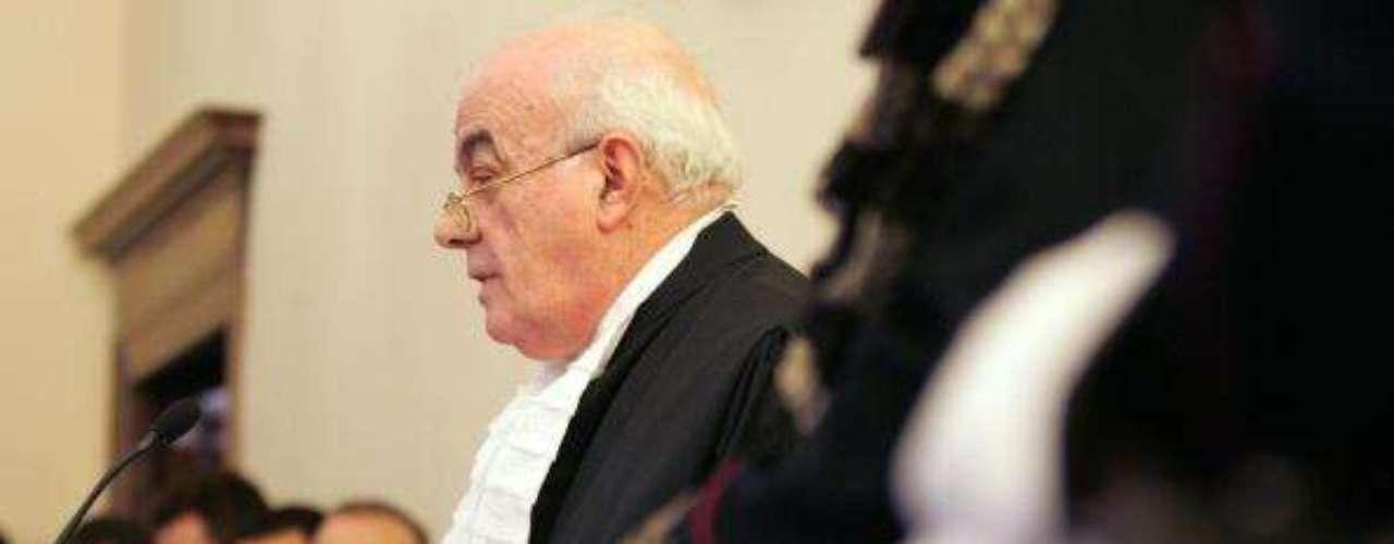 Gabriele fue interrogado por Nicola Picardi (foto), un magistrado de alto nivel en el Estado que ocupa la posición de promotor de Justicia.