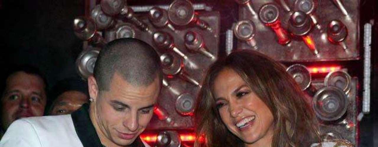 Jennifer López celebró con su novio Casper Smart el lanzamiento de su nuevo sencillo, \