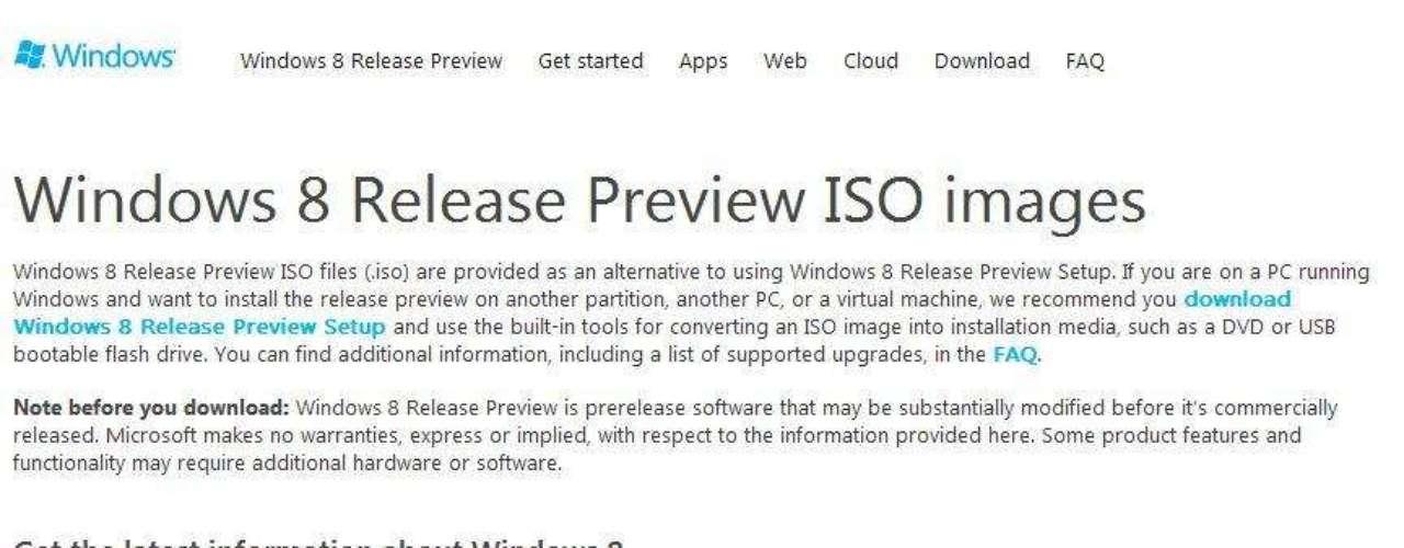 La versión 'Preview' de Windows 8 estará disponible para su descarga desde el 1º de junio y su fase final, se espera la versión final para el último cuarto del año.