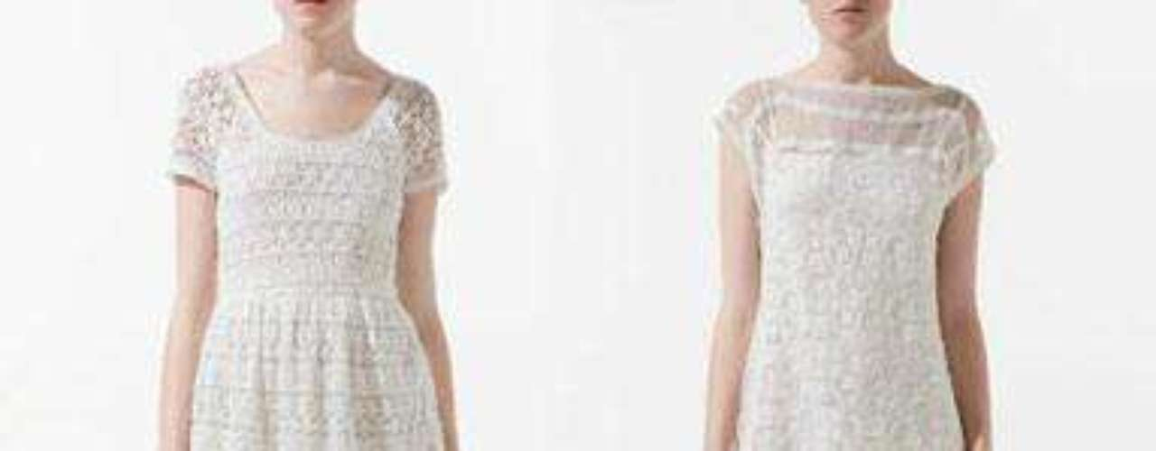 Al Lib La fiebre por el estilo croché y el guipur se plasma en vestidos cortos de verano. Estos dos modelos son de Zara. El de la izquierda cuesta 49,95 euros y el de la derecha, 39,95 euros