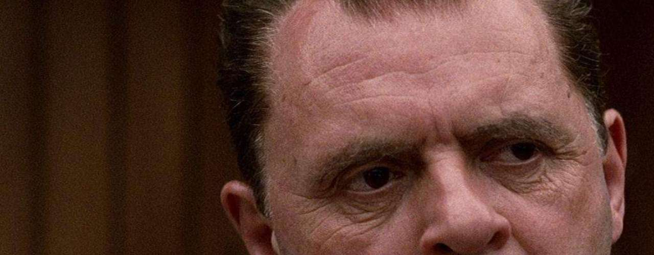 Al presidente de los Estados Unidos, Richard Nixon, le dio vida Anthony Hopkins, en la película dirigida por Oliver Stone.