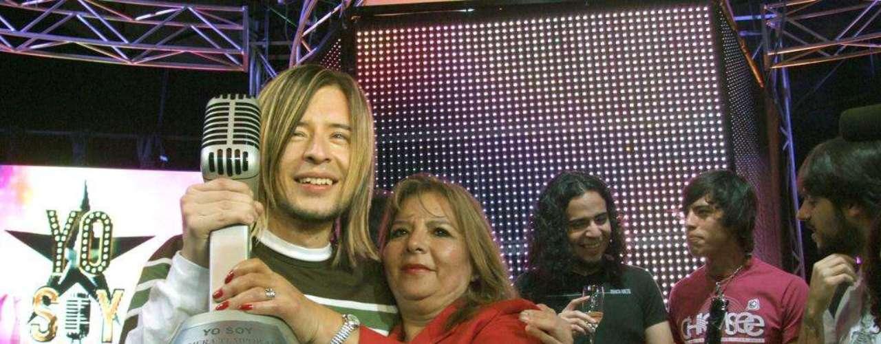 Ramiro se encuentra con su madre luego de anunciada su victoria en \