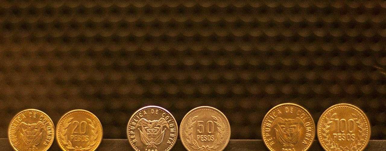 Estas son las monedas del presente.