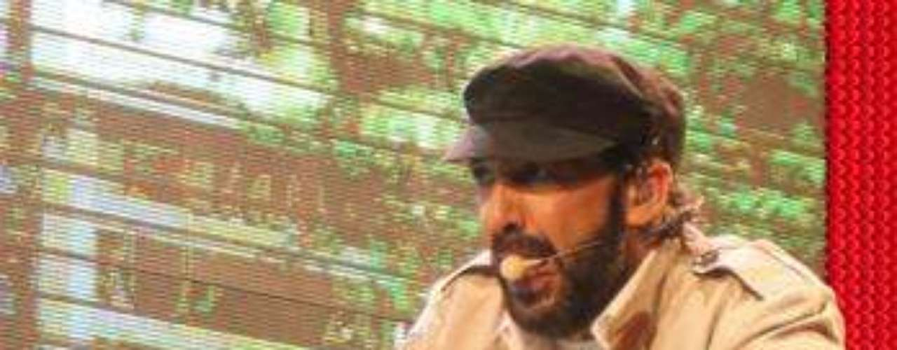 Juan Luis Guerra presentó el espectáculo de su gira \