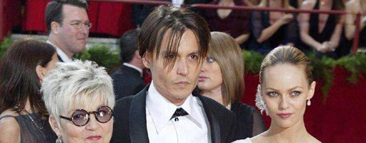 La combinación de personalidades en las alfombras rojas hacía llamativa la aparición de Depp y Paradis.