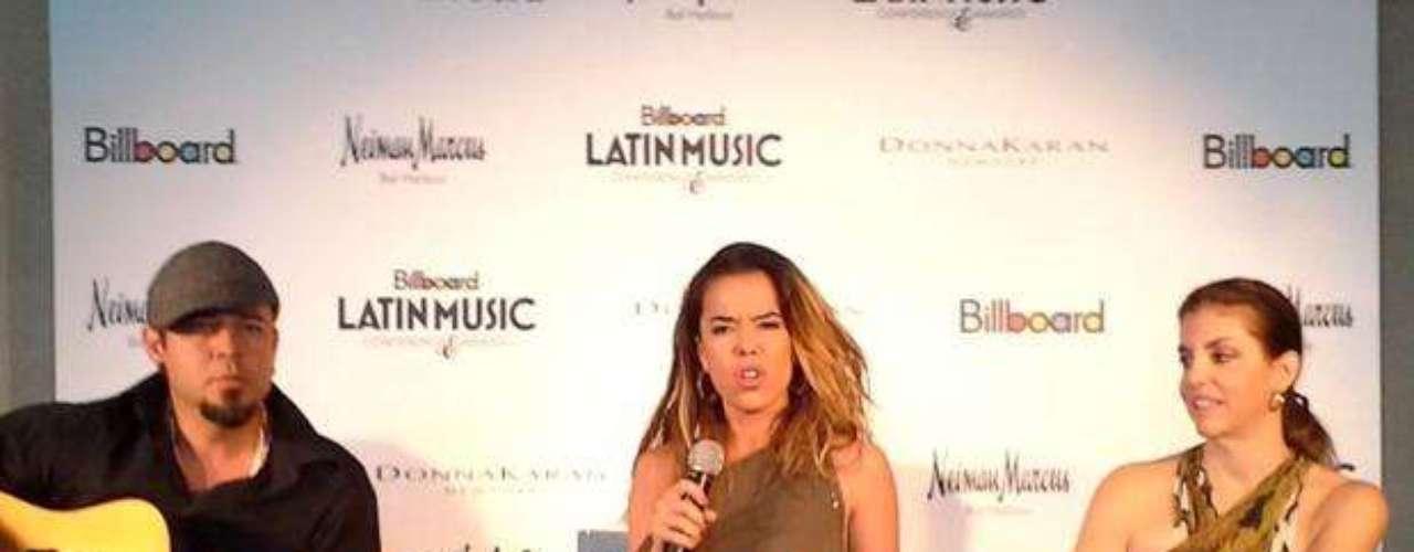 Durante su participación en la Conferencia Billboard de la Música Latina.