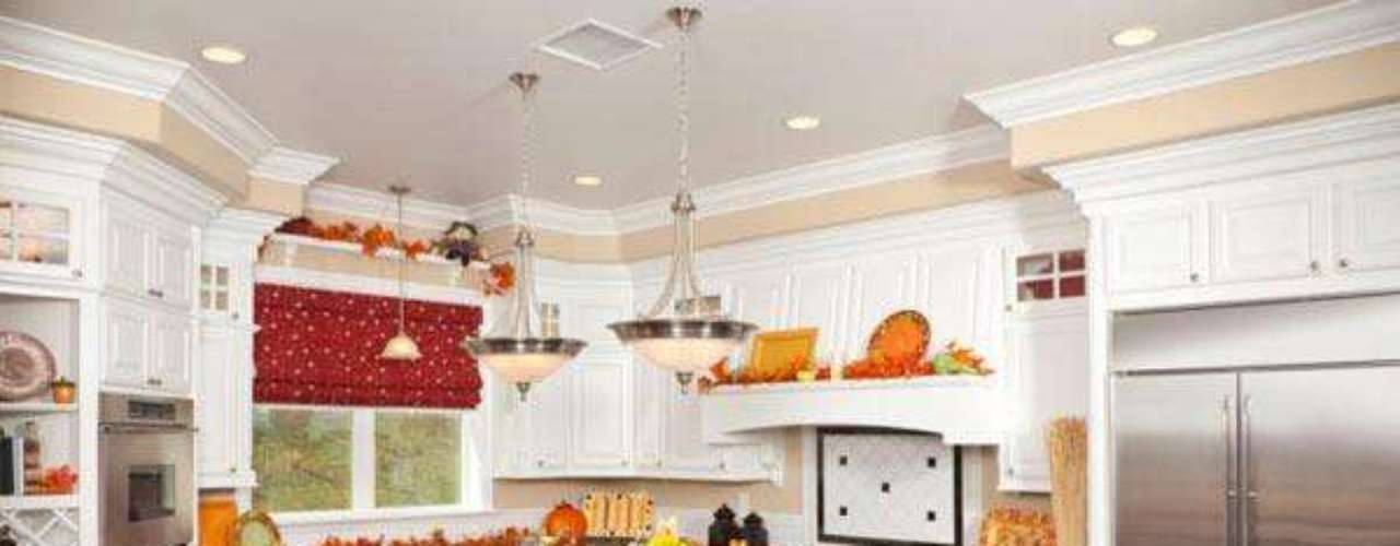 En la cocina cambiales las manijas de los muebles o  busca laminas o pequeños cuadros con estilo country y consígueles una base o un lindo marco en madera que les hará ver encantadores