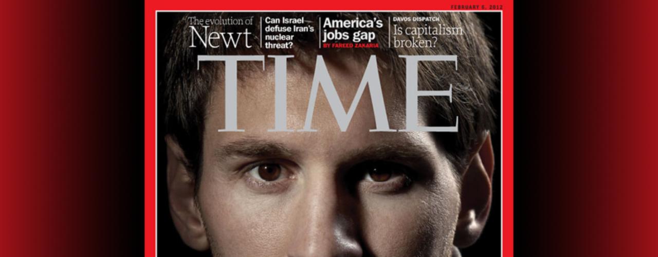 Debido a sus acciones dentro y fuera de la cancha, Lionel Messi se ha convertido en una de las estrellas que definen a nuestra generación. Está en el grupo de las 100 personas más influyentes en el mundo, según la revista Time.