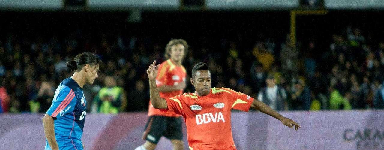 Giovanni Hernández fue uno de los colombianos presente en el juego.