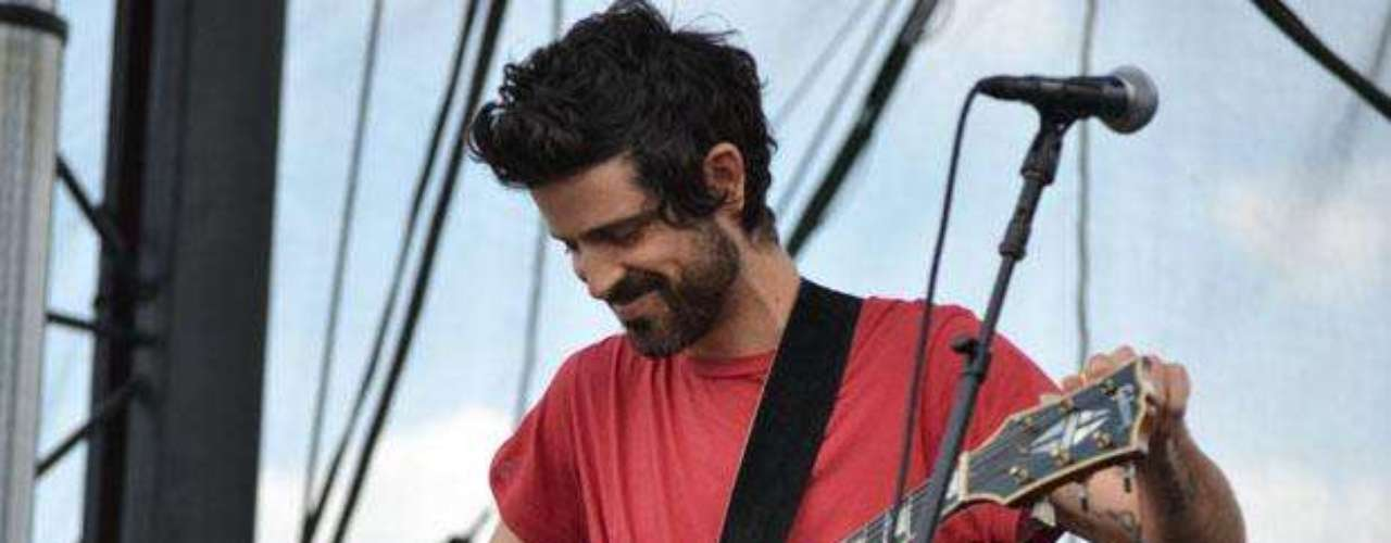 Devendra Banhart performs during the 2012 Governors Ball Music Festival at Randall's Island on June 24, 2012 in New York City.