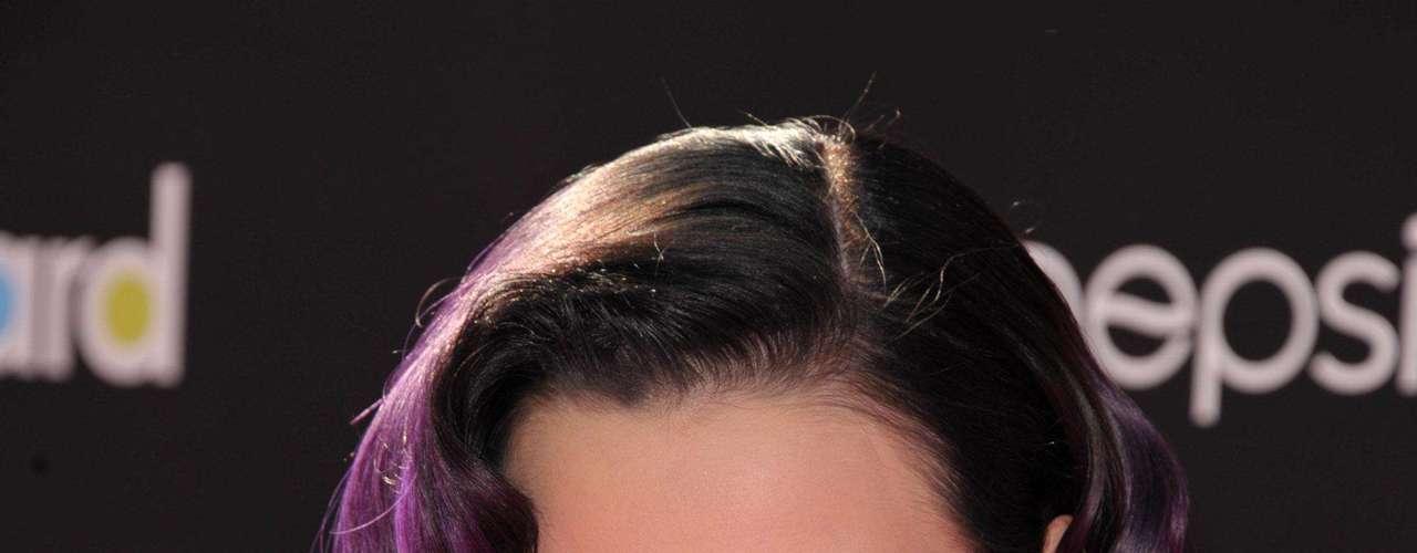 Katy Perry, en el evento, combinó la elegancia con la sensualidad.